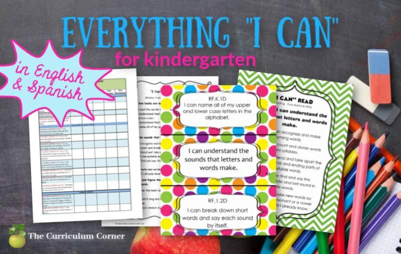 I Can Kindergarten