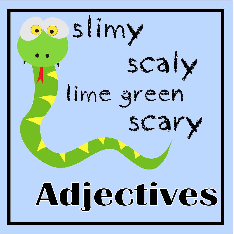 Printable Adjective Practice