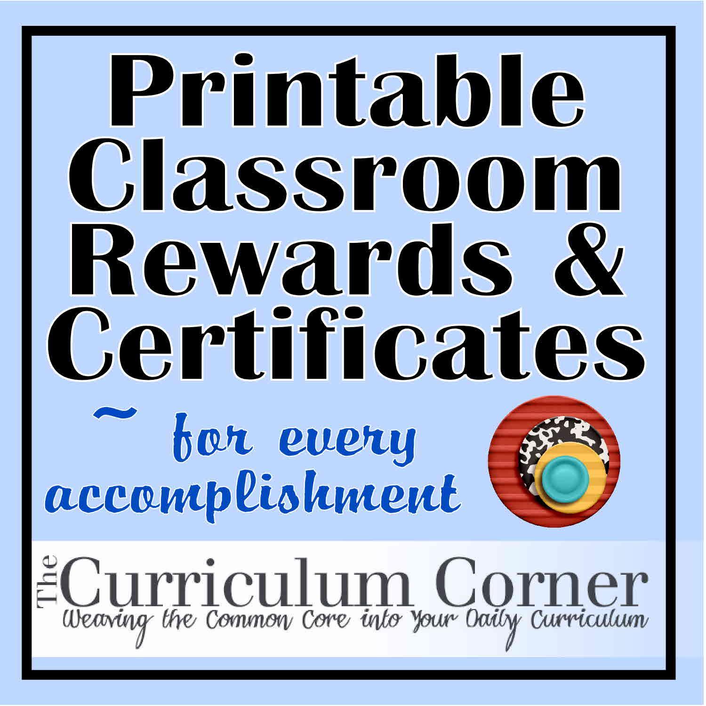 Rewards & Certificates