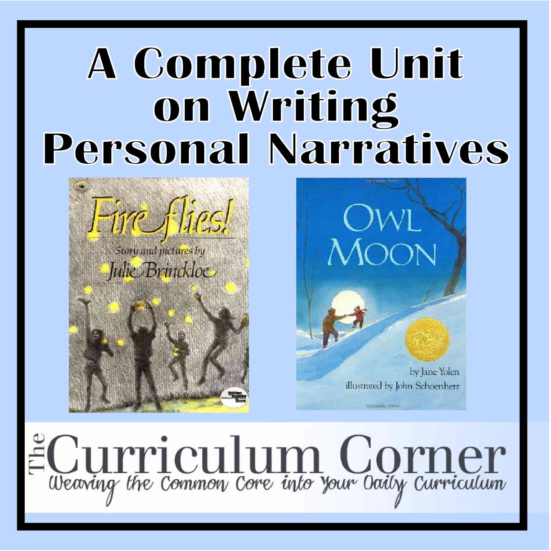 personal narrative essay/poem