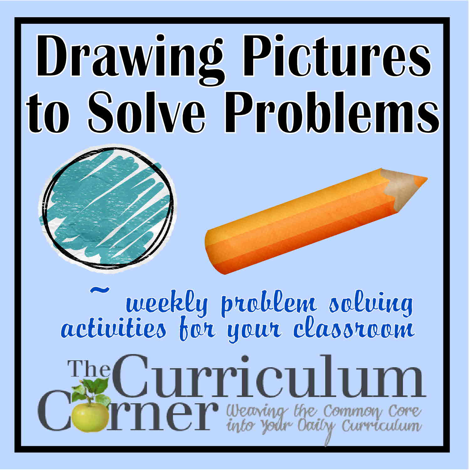 draw a diagram word problems humerus bone drawing pictures to solve the curriculum corner 123