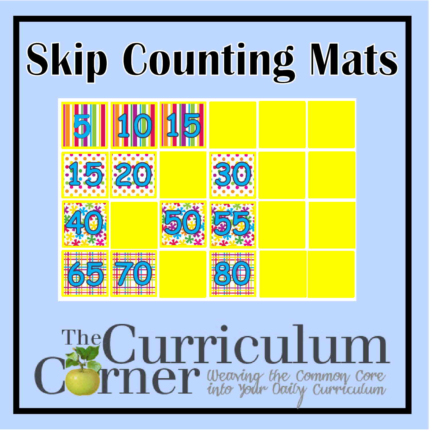 Skip Counting By 2s 5s 10s The Curriculum Corner 123