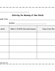 Inferring to determine the meaning of new words curriculum corner also rh thecurriculumcorner