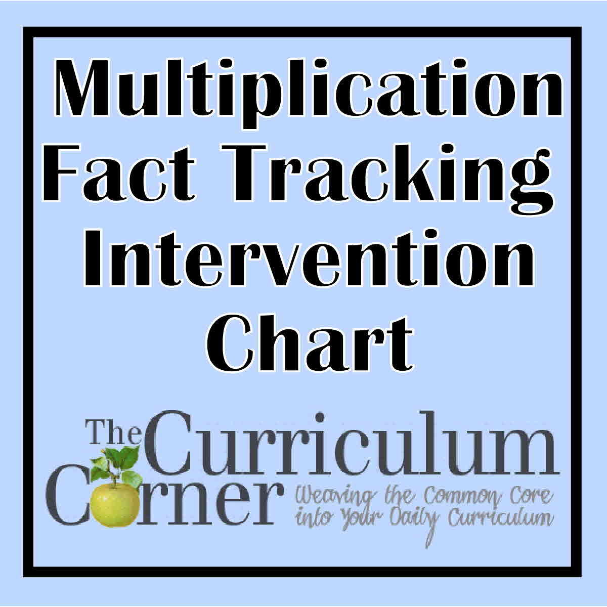 Multiplication fact tracking the curriculum corner 123 multiplication fact tracking geenschuldenfo Gallery