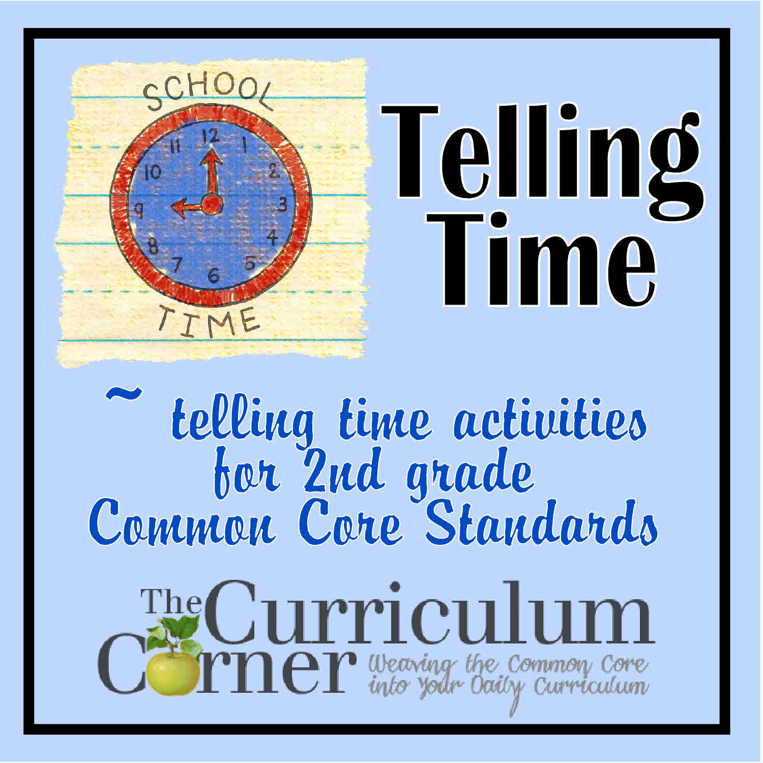 Search Results For Telling Time Activity For 2nd Grade