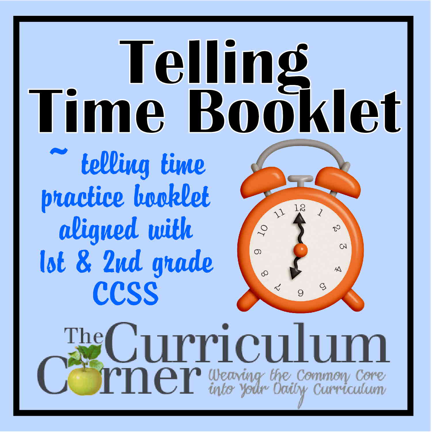 Telling Time Practice Booklet