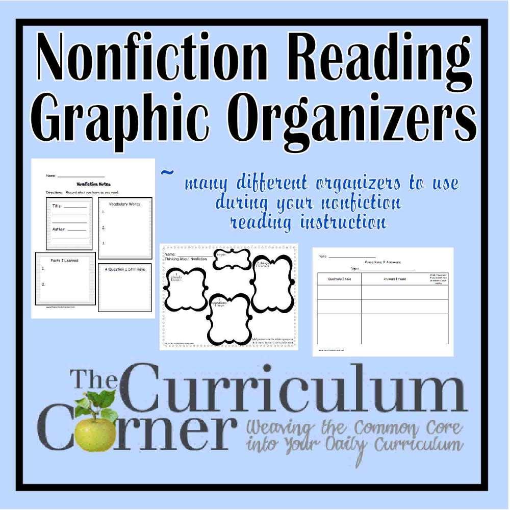 medium resolution of Book Report Organizer Elementary
