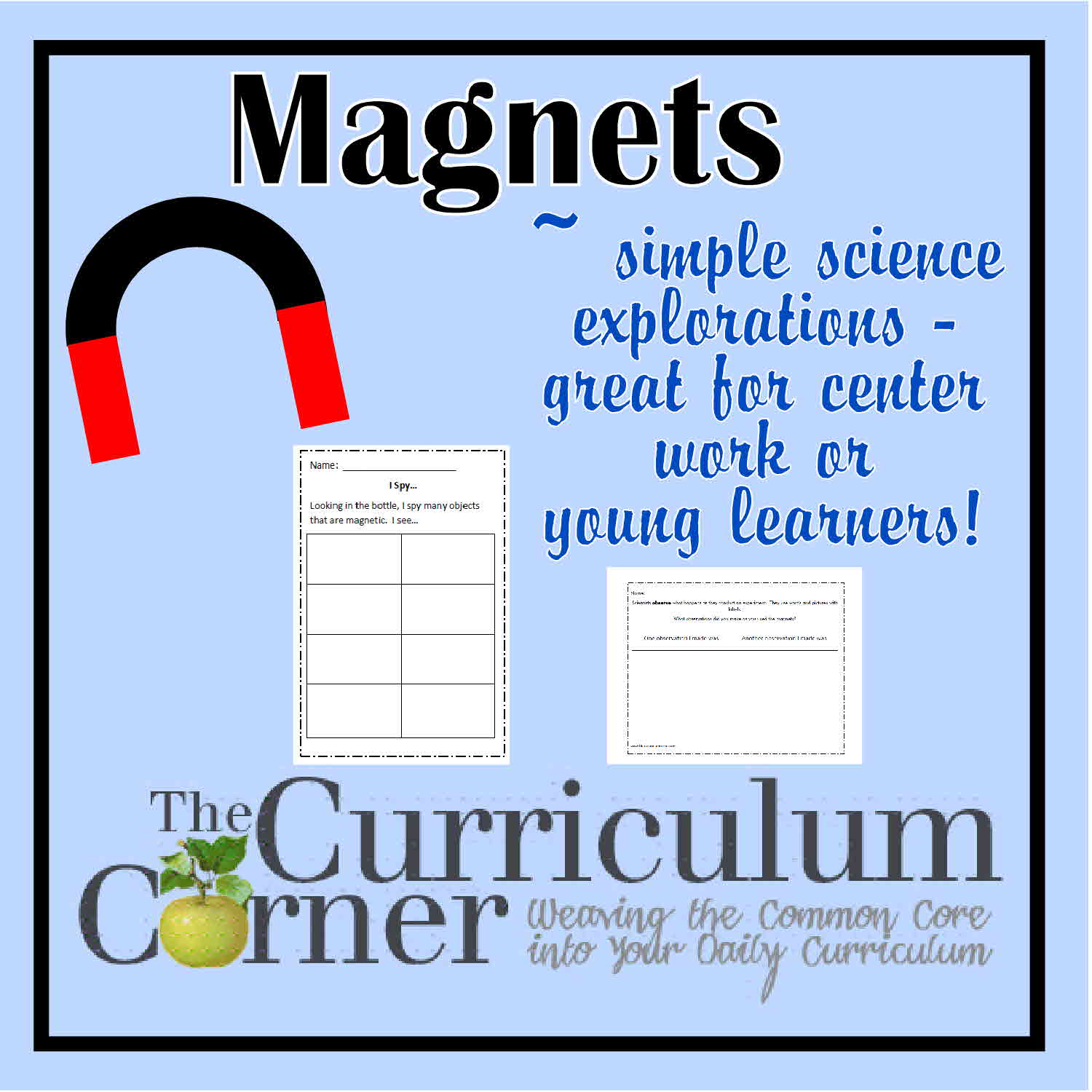 Magnets Worksheets 2nd Grade