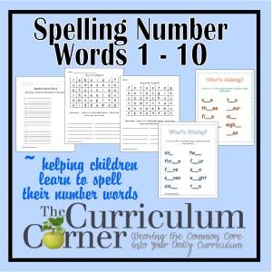 Spelling Number Words Practice