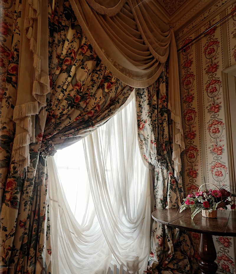 buy second hand or vintage curtains