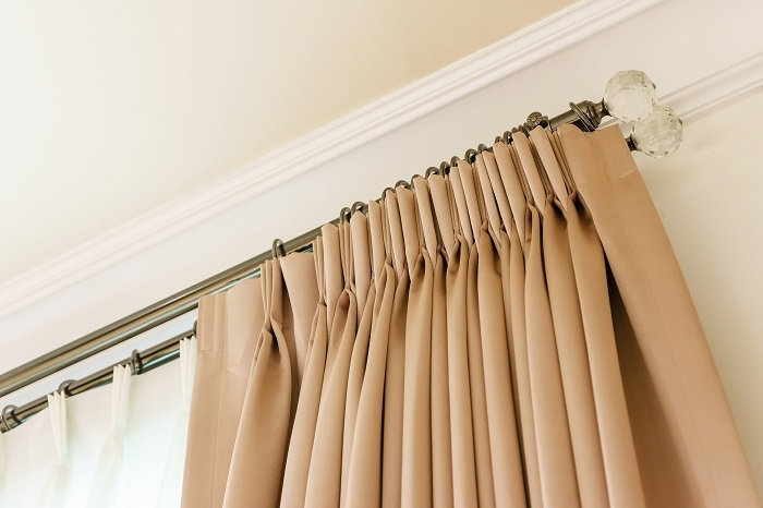 buying curtain poles and tracks the