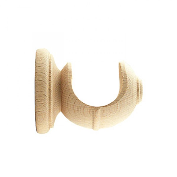 ebro wall bracket for 1 3 8 wooden curtain rod 1 3 4 projection