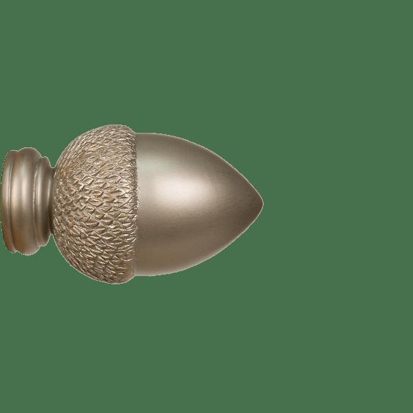 acorn finial for 3 curtain rod each