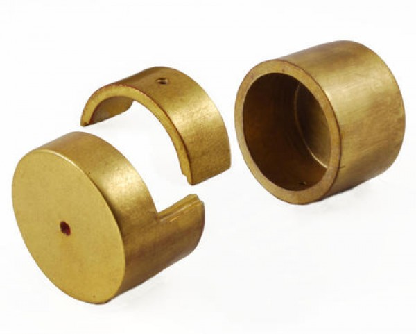 water gilded inside mount brackets for 2 curtain rods pair