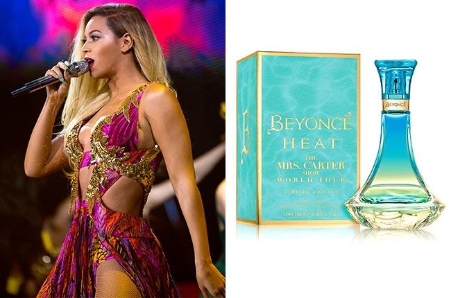 Beyonce mrs Carter tour Heat parfum