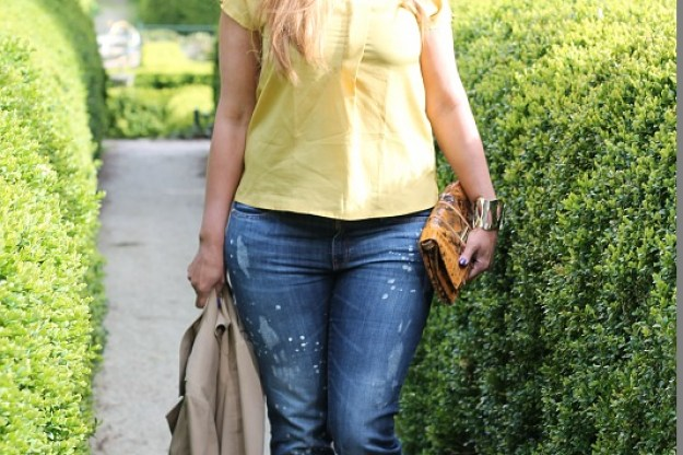 Boyfriend jeans for curvy girls