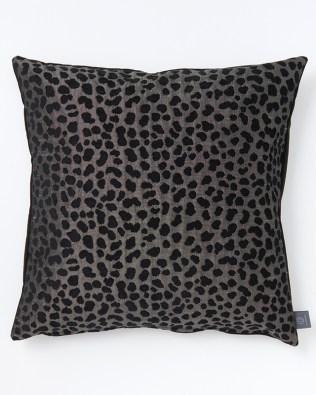 Animal Print Grey Double Sided Cushion