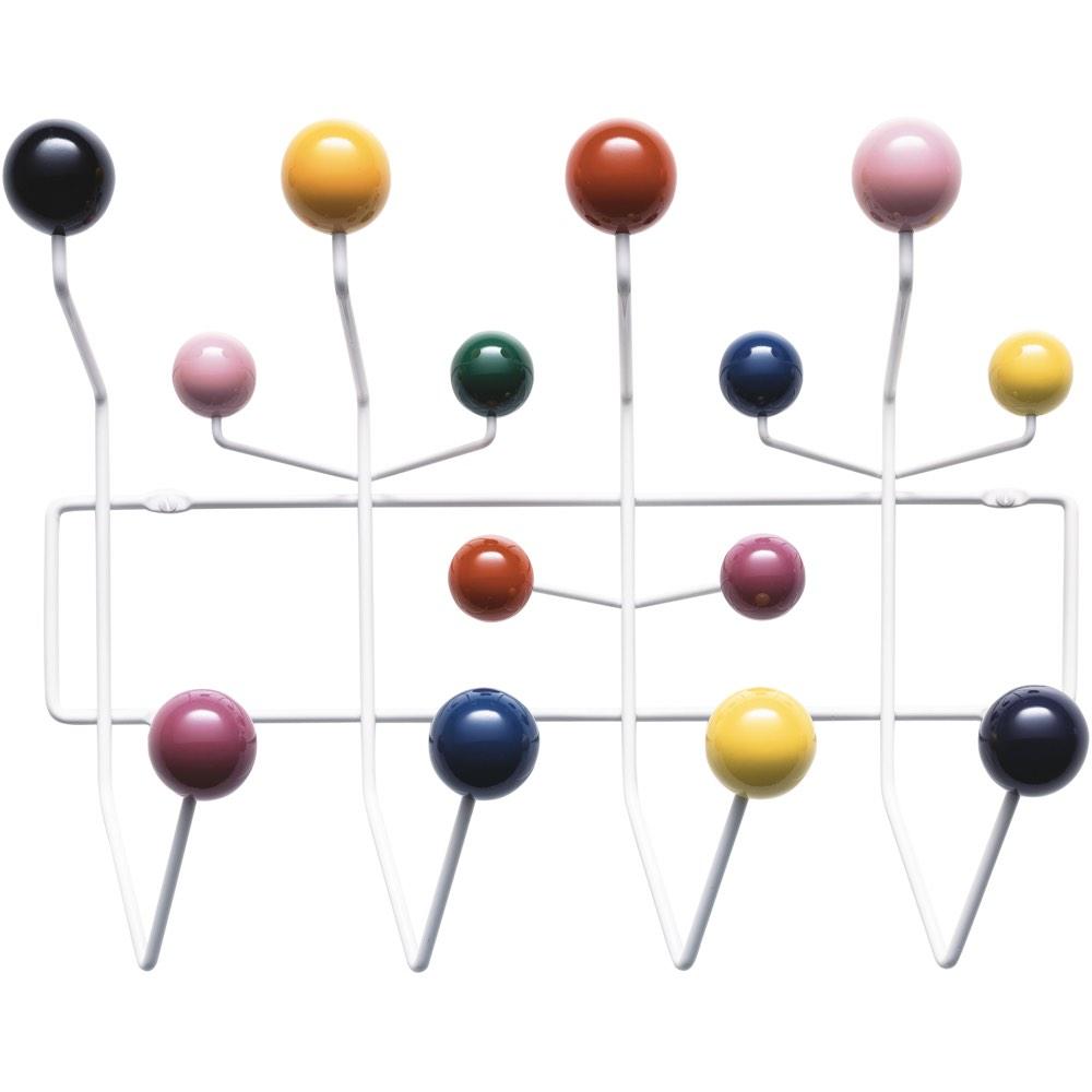 vitra eames hang it all coat rack multicolour