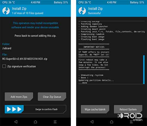 Root Android N Developer Preview TWRP SuperSU