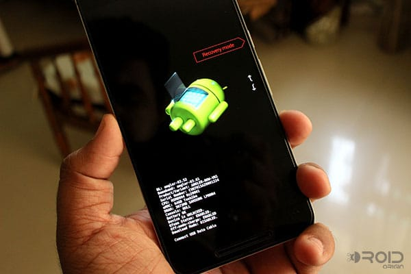 Режим загрузчика Nexus 6P
