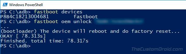 Как разблокировать загрузчик на Honor 9 Lite с помощью Fastboot