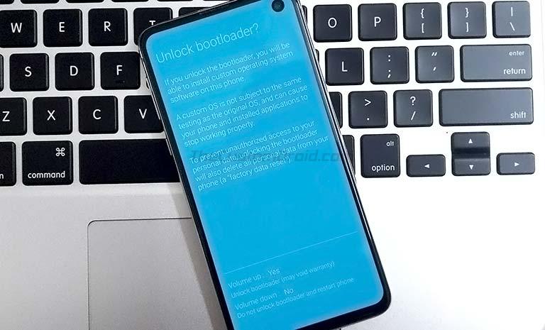 Разблокировать загрузчик на Samsung Galaxy S10, S10 + и S10e