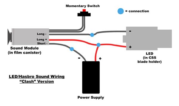 lightsaber battery wiring diagram