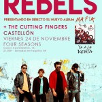 The Rebels + The Cutting Fingers en Four Seasons Sixties Club