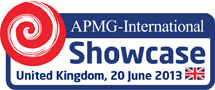 APMG International Showcase 2013