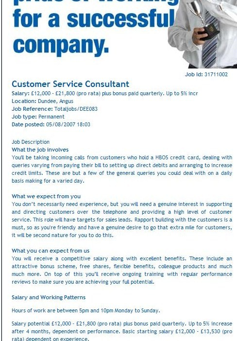 Customer Service CV Example Help The CV Store Blog