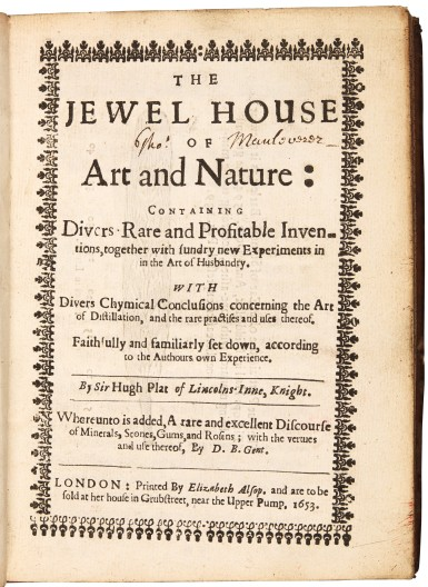 The Jewel House of Art and Nature