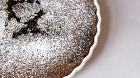 Old-fashioned blueberry cake