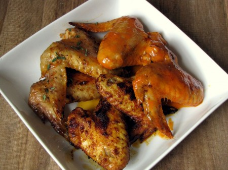 Classic Hot and Jamaican Jerk Wings