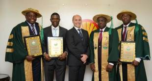 Four Shell staff bag Society of Engineers fellowship