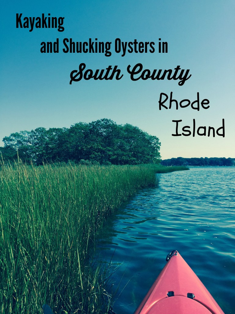 Kayaking in southern Rhode Island thedailyadventuresofme.com