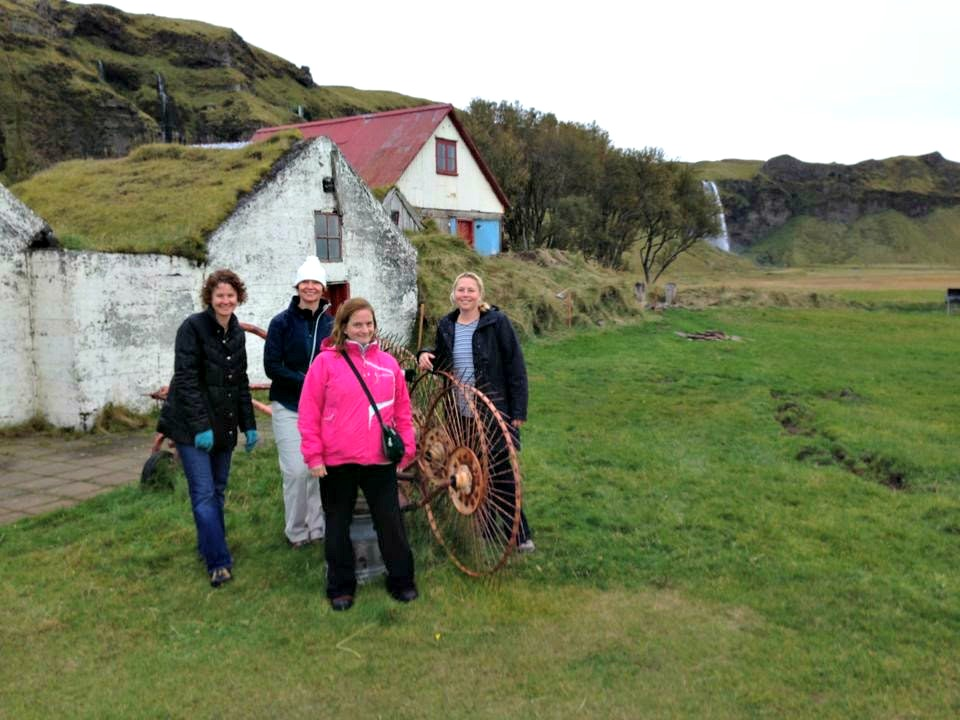 farmhouse on southern iceland road trip