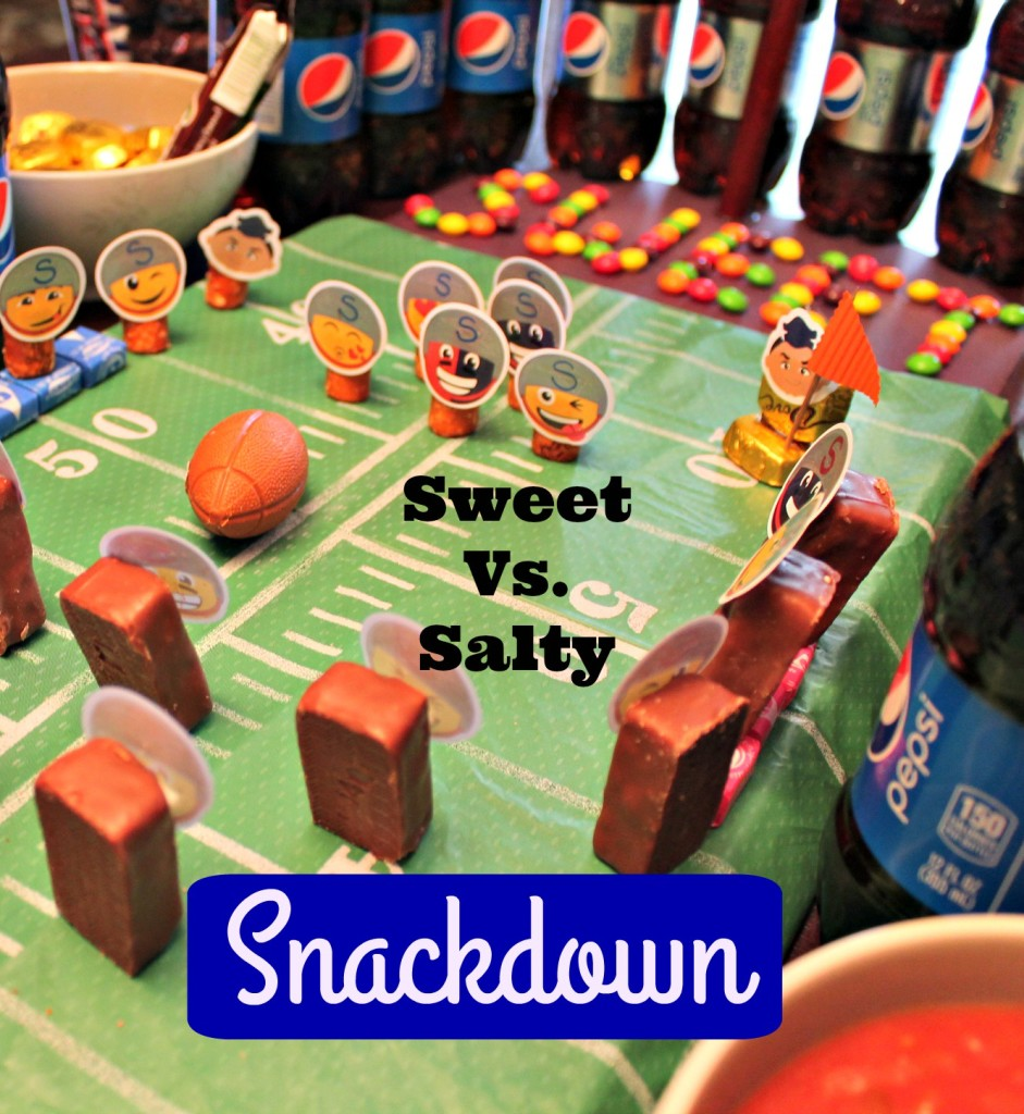 Salty Vs. Sweet Snack Stadium