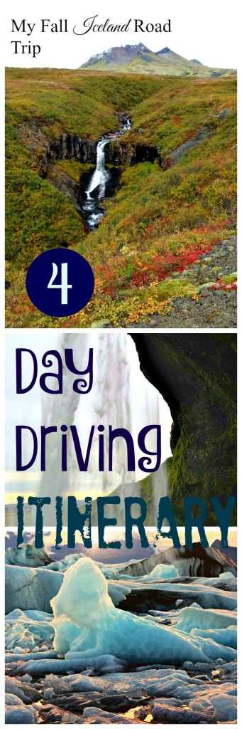 4 day southern iceland road trip itinerary