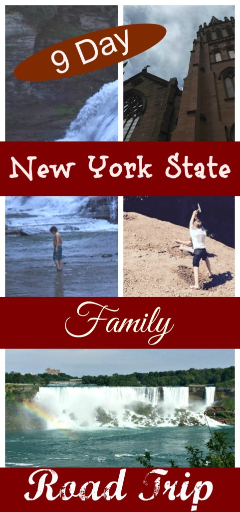 9 Day new york state family road trip