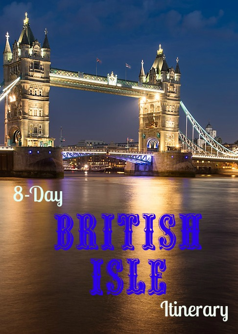 8-day british isle itinerary