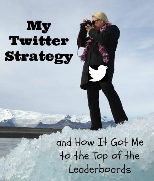 My twitter strategy of www.thedailyadventuresofme.com