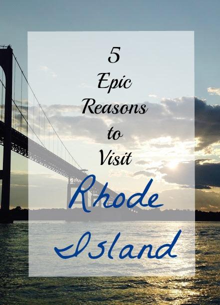 5 Epic Reasons to Visit Rhode Island www.thedailyadventuresofme.com