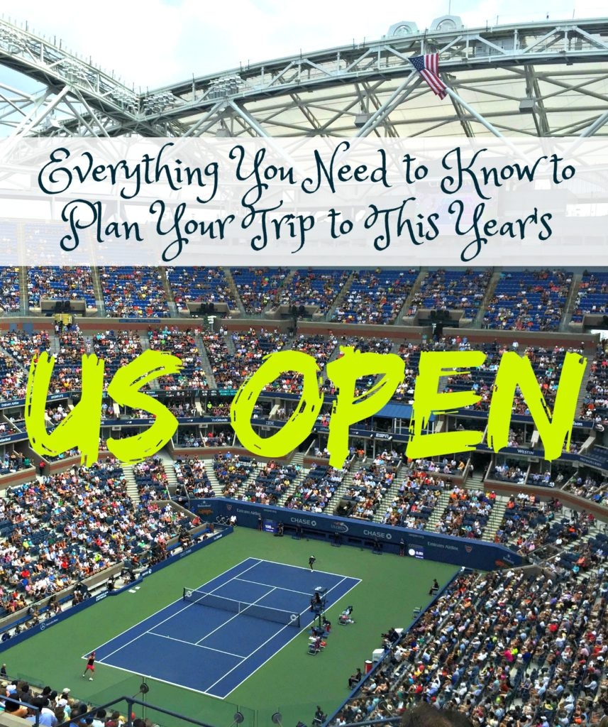 Plan your US Open Experience
