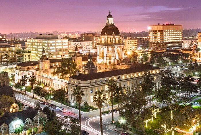 things to do in pasadena at night