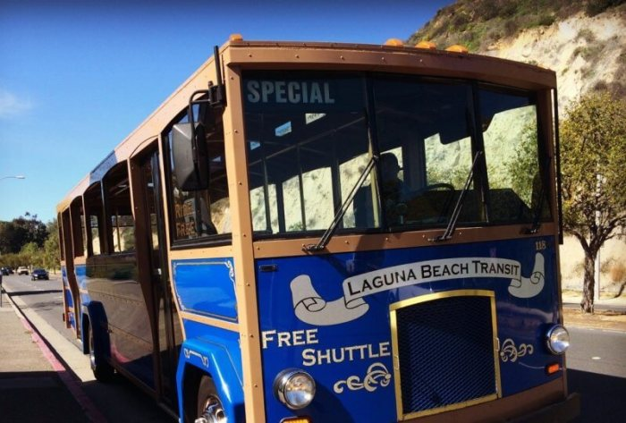 laguna beach trolly