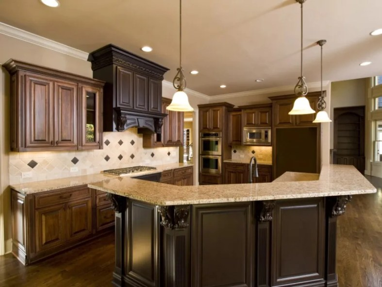 two tone kitchen cabinets chalk paint