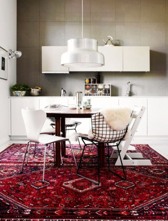 Bright Red Kitchen Rugs. Red Signifies Power And Bravery Along With Love.  It Is The Color That Can Indulge Everybody And Make Him/her Feel Unique.