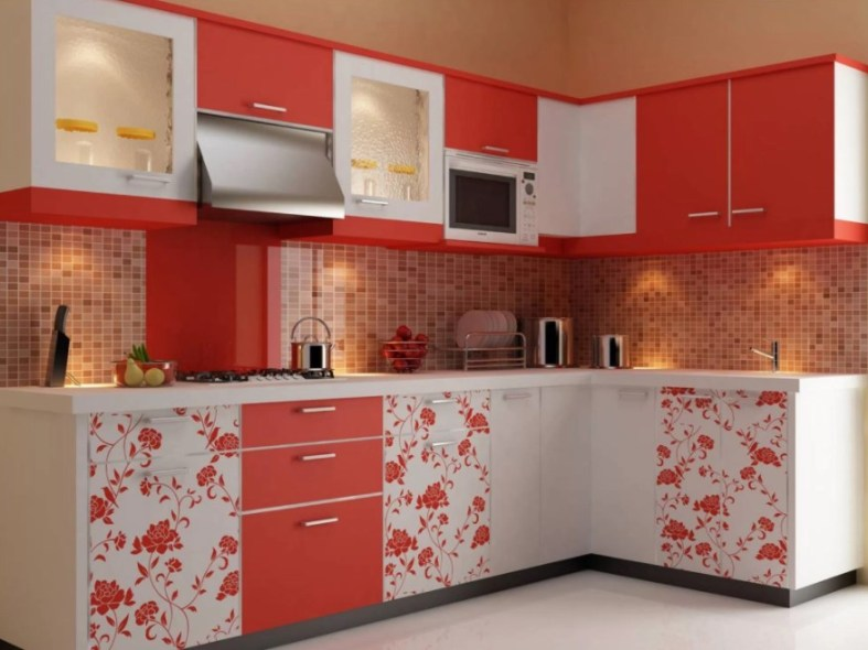two tone cabinets for kitchen