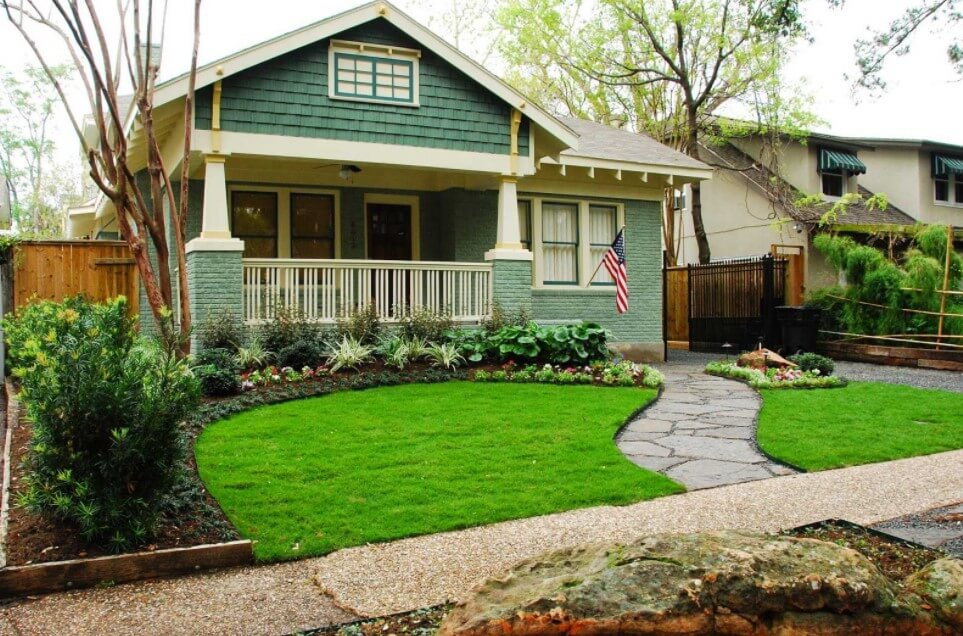 Delightful Cottage Landscaping Ideas For Front Yard Part - 11: Small Cottage Landscape Designs Plans Front Yard Ideas