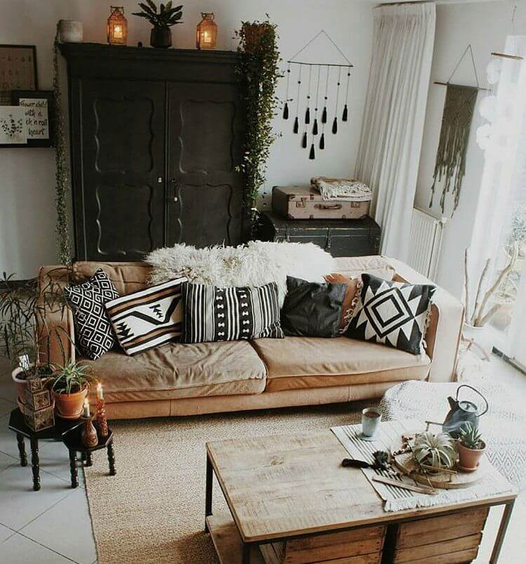 35 Awesome Bohemian Home Decor